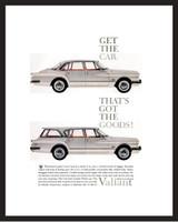 LIFE Magazine - Framed Original Ad - 1960 Chrysler Valiant Ad