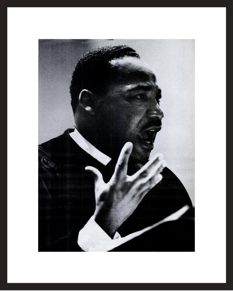 LIFE Magazine - Framed Historic Page - Martin Luther King Jr.