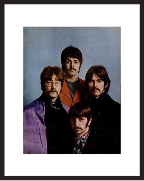 LIFE Magazine - Framed Historic Photograph - The Beatles