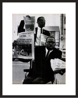LIFE Magazine - Framed Historic Photograph - Malcolm X