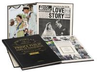 Prince Philip - Duke of Edinburgh - Pictorial Newspaper Book