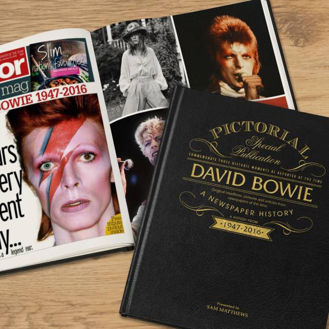 David Bowie - A Newspaper History Book