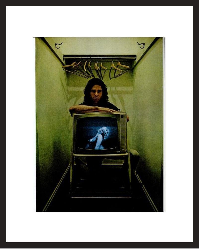 LIFE Magazine - Framed Historic Photograph - Jim Morrison in 1968