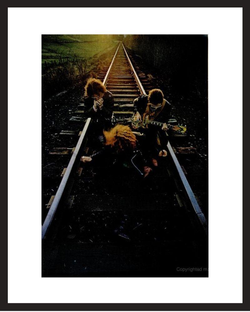 LIFE Magazine - Framed Historic Photograph - Cream in 1968
