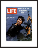 LIFE Magazine - Framed Historic Cover - 1967 Six -Day War