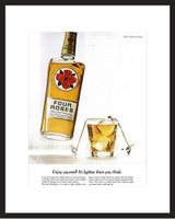 LIFE Magazine - Framed Original Ad - 1967 Four Roses Whiskey Ad