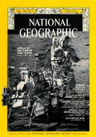 National Geographic - July 1971 - Apollo 14: The Climb Up Cone Crater