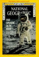 National Geographic - December 1969 - First Explorers on the Moon