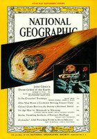 National Geographic - June 1962 - John Glenn's Three Orbits of Earth