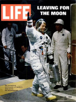 LIFE Magazine - July 25, 1969 - Leaving For the Moon