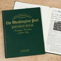 Washington Post - Birthday Book