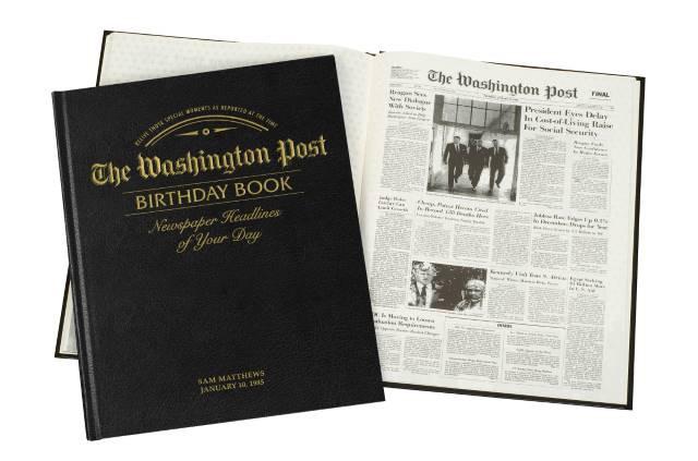 Washington Post Leather