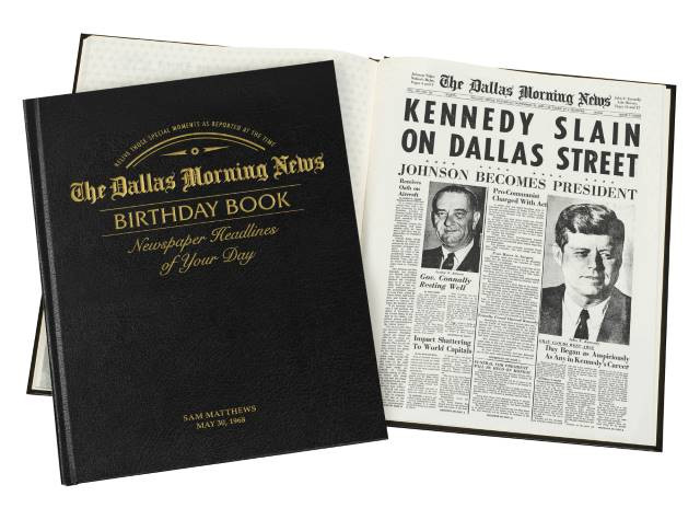 Dallas Morning News Leather Edition