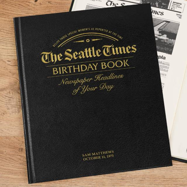 Seattle Times Leather Edition