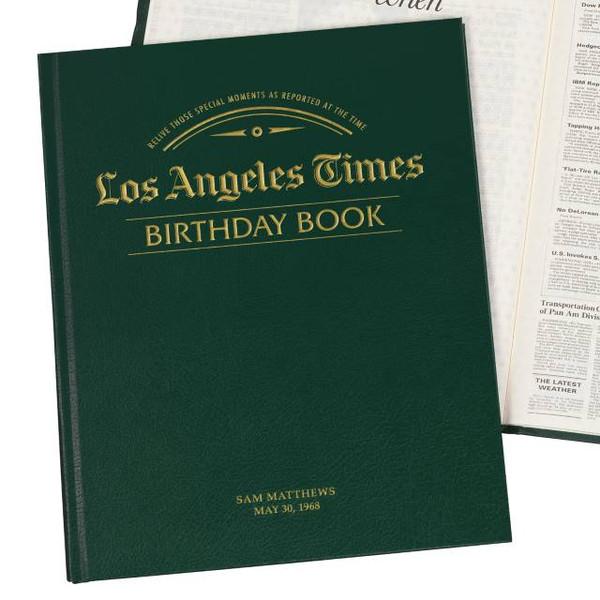 LA Times Birthday Book