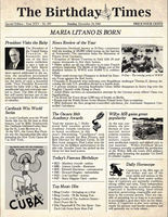 Personalized Newspaper Front Page
