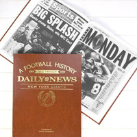 Giants Fan - Personalized Team Book