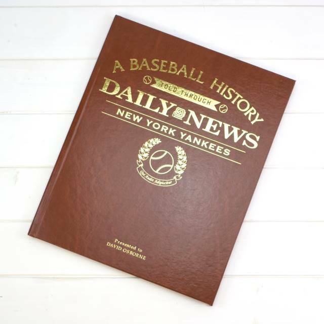 Yankees Fan - Personalized Team Book