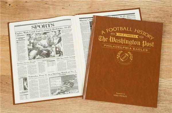 Eagles Fan - Personalized Team Book