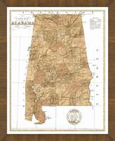 Old Map of Alabama