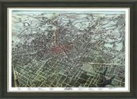 Old Map of Atlanta