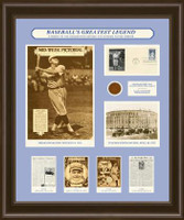 Babe Ruth Framed Art
