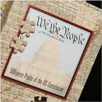 U.S. Constitution Jigsaw Puzzle