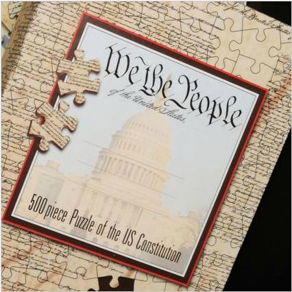 U.S. Constitution Jigsaw Puzzle