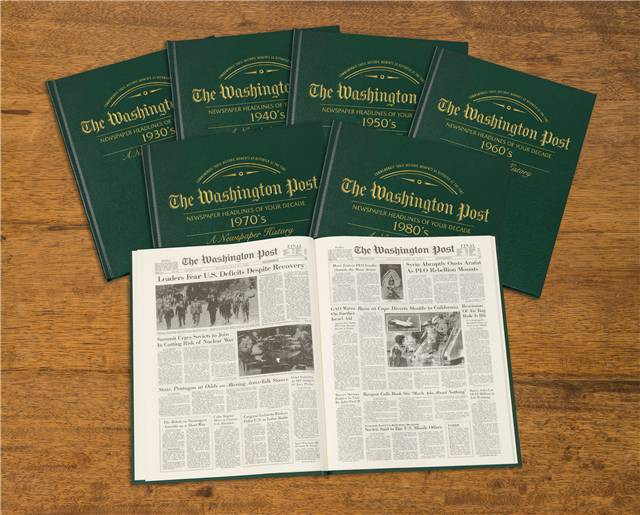 Washington Post Decade Books