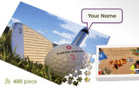 Golf Ball Personalized Jigsaw Puzzle