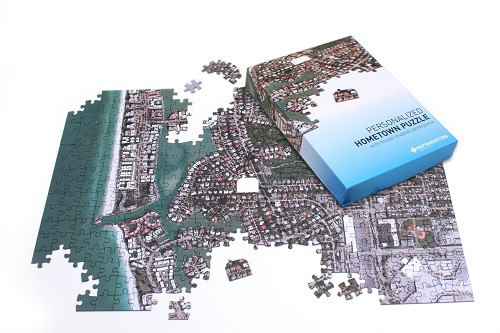 Aerial Hometown Puzzle