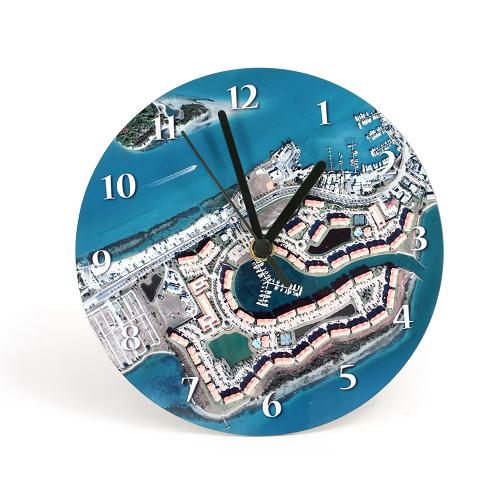 Map Clock