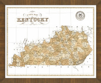 Old Map of Kentucky