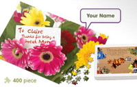 Mother's Day Personalized Flower Jigsaw Puzzle