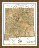 Old Map of New Mexico