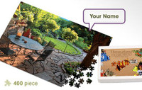 Patio Personalized Jigsaw Puzzle