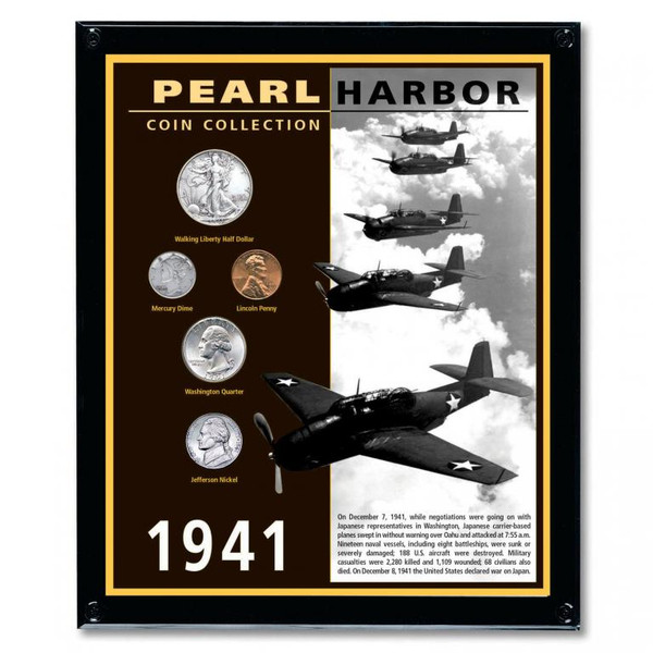 Pearl Harbor Commorative Coin Collection