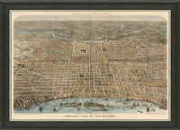 Old Map of Philadelphia