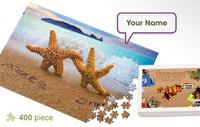 Starfish Pair Personalized Jigsaw Puzzle