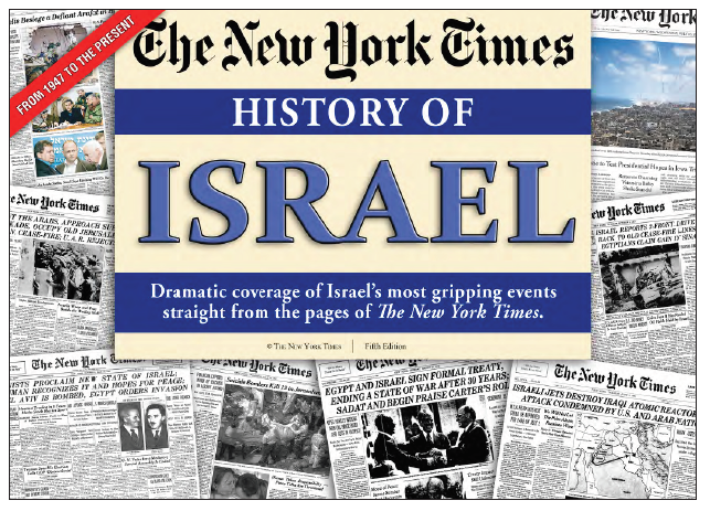 Israel History - Front pages from the NY Times