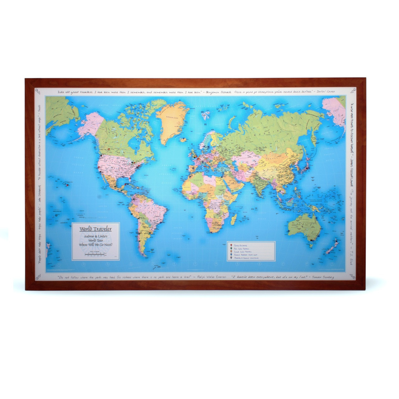 Personalized World Travel Map on national geographic personalized map, persona map, usa map, personalized world globe, personalized map u.s. travelers, yoga mind map, personalized travel map, personalized map jigsaw puzzle, personalized wall map, road map, places i have been map, personalized map gifts,