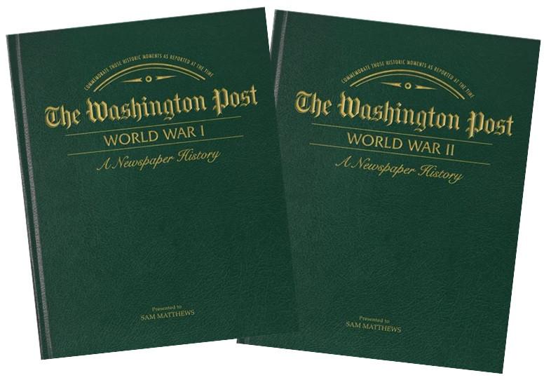 World War I & II - Washington Post Book Set