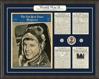 World War II Framed Art and Artifacts