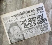 St. Valentine's Day Massacre Historic Paper