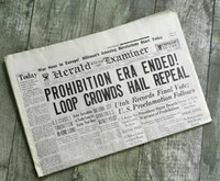 Prohibition Era Ends Historic Newspaper