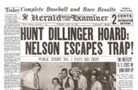 John Dillinger Historic Newspaper