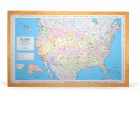 USA Traveler Map