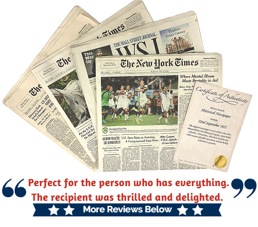 picture relating to Free Printable Birthday Chronicle known as Birthday Newspaper - Just take Your Town Day