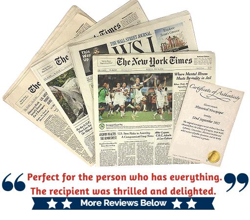 photo regarding Free Printable Birthday Chronicle known as Birthday Newspaper - Take Your Metropolis Day