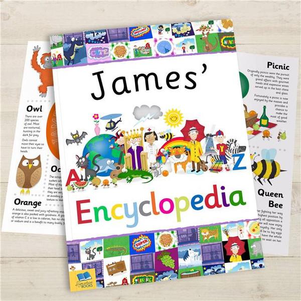 Personalized Kids Encyclopedia